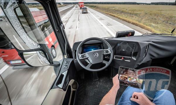 В Mercedes-Benz рассказали о Future Truck 2025