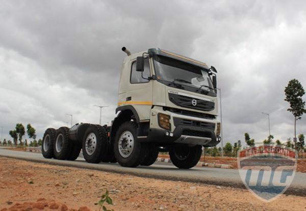 О новом Volvo FMX440