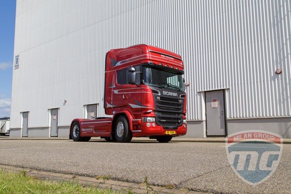 Scania Red Passion