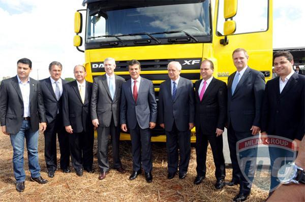 Компания DAF открыла новый завод в Бразилии