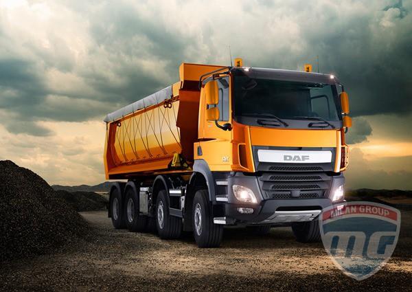 DAF представила грузовики CF и LF Construction