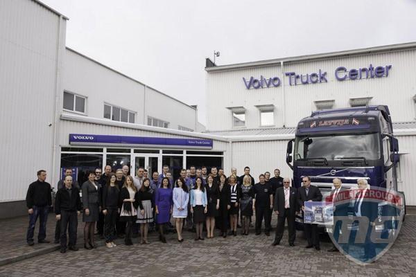 В Латвии продан семитысячный грузовик Volvo