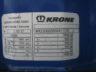 тент Krone 2008, bpw eco plus, барабанные тормоза