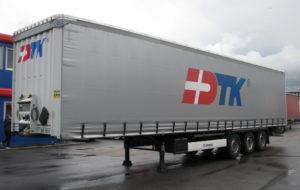 тент Krone 2015, оси Krone, дисковые тормоза, коники