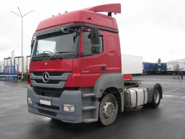 Седельный тягач Mercedes-Benz axor 1840LS, 2012 года