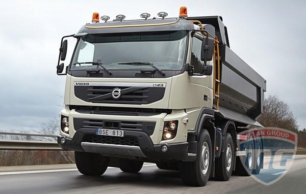 Строительные грузовики Volvo получат еще пять инноваций